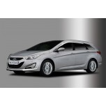 [AUTO CLOVER] Hyundai i40 - Chrome Door Visor Set (C508)