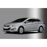 [AUTO CLOVER] Hyundai i40 - Chrome Door Visor Set (C508)