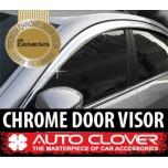 [AUTO CLOVER] Hyundai Genesis - Chrome Door Visor Set (C514)