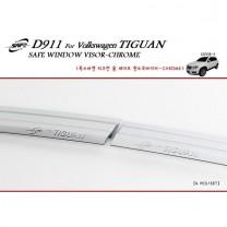 [KYOUNG DONG] Volkswagen Tiguan - Chrome Door Visor Set (D-911)