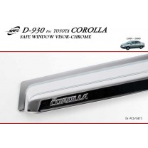 [KYOUNG DONG] Toyota Corolla​ - Chrome Door Visor Set (D-930)