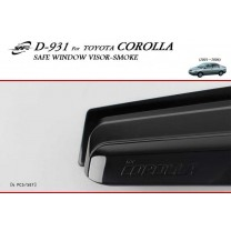 [KYOUNG DONG] Toyota Corolla - Smoked Window Visor (D-931)