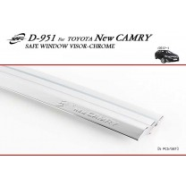 [KYOUNG DONG] Toyota Camry - Chrome Door Visor Set (D-951)