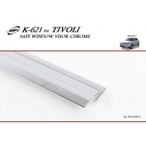 [KYOUNG DONG] SsangYong Tivoli - Chrome Window Visor Set (K-621)