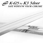 [KYOUNG DONG] KIA K3 Euro  - Chrome Door Visor Set (K-625)