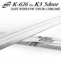 [KYOUNG DONG] KIA K3 Euro  - Chrome Door Visor Set (K-626)