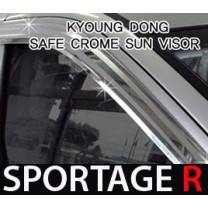 [KYOUNG DONG] KIA Sportage R - Chrome Window Visor Set (K-716)