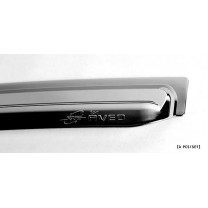 [KYOUNG DONG] Chevrolet Aveo Hatchback - Chrome Window Visor (K-726)