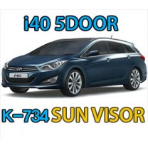 [KYOUNG DONG] Hyundai i40 - Chrome Window Visor Set (K-734)