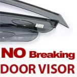 [MOBIS] Hyundai YF Sonata - Smoked No Breaking Door Visor Set