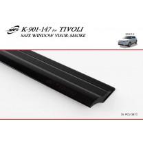 [KYOUNG DONG] SsangYong Tivoli - Smoked Window Visor Set (K-901-147)