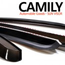 [CAMILY] Hyundai Terracan - Smoked Door Visor Set