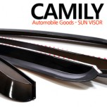 [CAMILY] KIA All New Morning - Smoked Door Visor Set