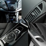 [ARTX] Hyundai i40 - Carbon Fabric Decal Stickers (c.fascia, side points, ducts, window switches)