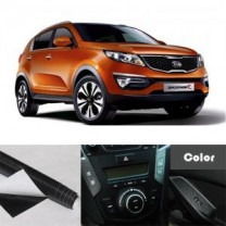 [ARTX] KIA Sportage R​​ - Carbon Fabric Decal Stickers (Gear panel, window switches)