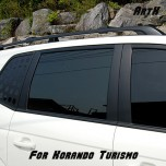 [ARTX] SsangYong Korando Turismo - Carbon Fabric B & C Pillar Decal Stickers
