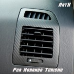 [ARTX] SsangYong Korando Turismo - 3D Carbon Fabric Duct Decal Stickers