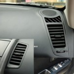 [ARTX] KIA Soul - Carbon Fabric Decal Stickers (window switches, gear panel, ducts)