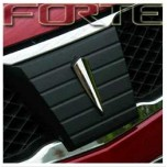Декоративная накладка не решетку радиатора - KIA Forte (MORRIS)