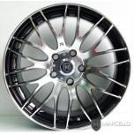 """[MARCELLO] KIA Forte - Marcello MR-10 Black Polishing Silver 17""""/5H Wheels"""