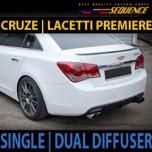 [SEQUENCE] Chevrolet Cruze - Single / Dual Rear Diffuser