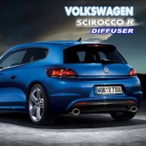 [AUTO LAMP] Volkswagen Scirocco R - Rear Diffuser Set
