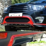 [ARTX] SsangYong Korando Sports - Carbon Front & Rear Lip Skirt Diffuser Set
