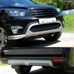 [ARTX] SsangYong Korando Sports - Front & Rear Lip Skirt Diffuser Set