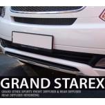 [MAXTO] Hyundai Grand Starex - Front & Rear Sporty Diffuser