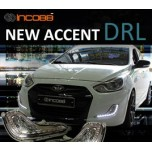 [INCOBB] Hyundai New Accent - LED Daylight (DRL) System Set