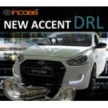 [INCOBB] Hyundai New Accent - LED Daylight (DRL) System Set