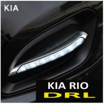[MOTORSPY] KIA All New Pride Hatchback - LED Daytime Running Lights (DRL) Set