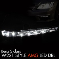 [AUTOLAMP] Mercedes-Benz S-Class (W221) - LED  Daytime Running Lights Set