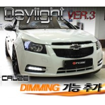 [INCOBB] Chevrolet Cruze - LED Daylight (DRL) System Ver.3 (Dimming)