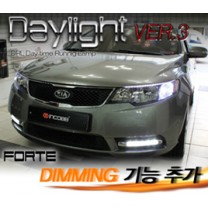 [INCOBB] KIA Forte - LED Daylight (DRL) System Ver.3 (Dimming)