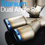 [JUN,B.L] 80 pi Titanium Dual Cut Muffler Cutter [JBL5T-D015]