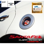 [EXOS] Hyundai Santa Fe DM - Clear Oil Cover with Oil cap