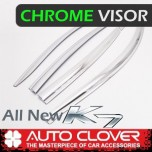 [AUTO CLOVER] KIA All New K7 - Chrome Door Visor Set (D679)