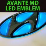 [CARROS] Hyundai Avante MD - 2Way Hi-Color LED Emblem