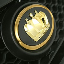 [AUTORIA] Hyundai Avante MD - Crown Emblem Gold Edition Set