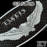 [ARTX] KIA K7 - Eagles Carbon Look Tuning Emblem Set