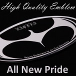 [ARTX] KIA All New Pride - Luxury Eagles Tuning Emblem Set