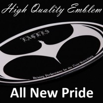 [ARTX] KIA All New Pride - Eagles Tuning Emblem 3 type Set