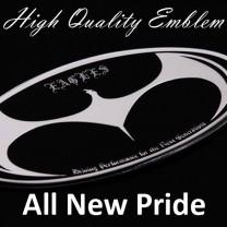 [ARTX] KIA All New Pride - Eagles Tuning Emblem 3 type Set