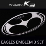 [ARTX] KIA K3 - Eagles Tuning Emblem 3 type Set
