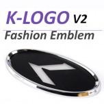 [SENSE LIGHT] KIA  - K-Logo Fashion Emblem Ver.2