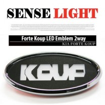 [SENSE LIGHT] KIA Forte Koup - Koup Logo LED 2Way Special Emblem Set