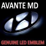 [BRICX] Hyundai Avante MD - 2-Way LED Emblem Set
