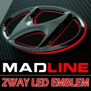 [MADLINE] HYUNDAI - 2-Way LED Emblem Set