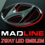 [MADLINE] Hyundai Avante MD - 2-Way LED Emblem Set